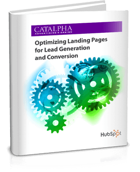Download our Free ebook - Optimizing Landing Pages for Lead Generation and Conversions