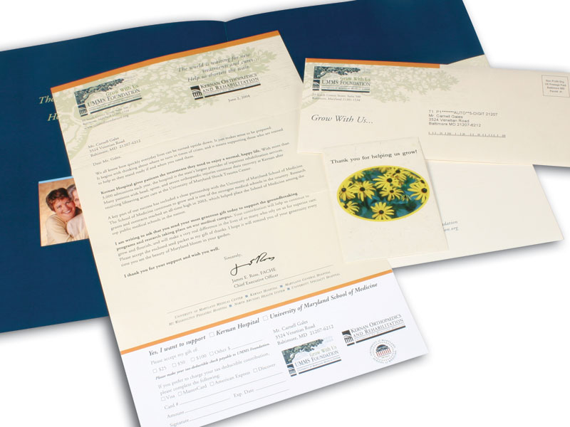 Branding and printed collateral materials
