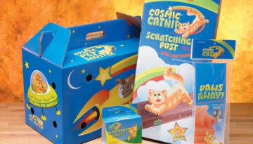 Cosmic Cat product branding
