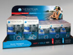 Counter display for health and wellness products