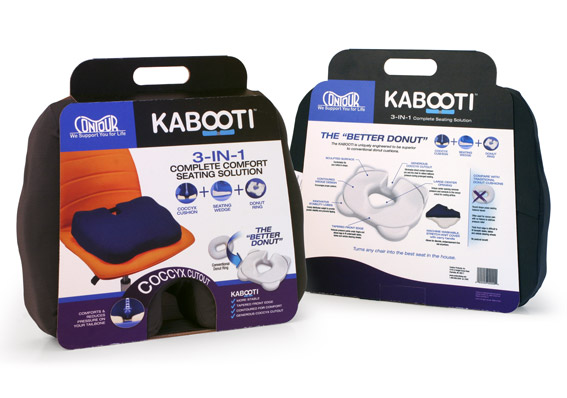 "Custom product packaging solution for ""Kabooti."""