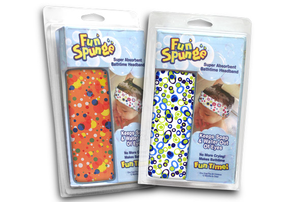 FunSpunge Product Packaging Design