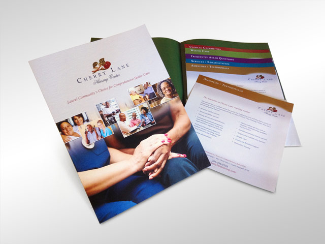 Corporate Pocket Folder with Inserts
