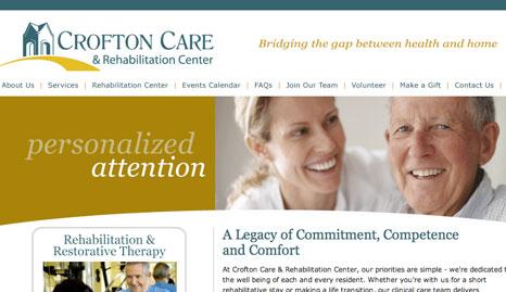 Crofton Care & Rehabilitation Rebranding