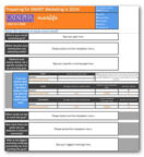 Start your marketing budget planning with this template.