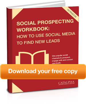 How to use new media to find new leads. title=Social Prospecting Workbook