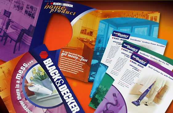 Product Brochures & Promotional Material