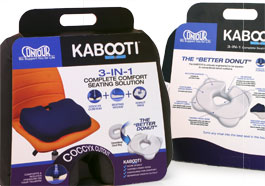 Package branding and logo for the Contour Kabooti