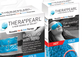 Custom printed transparent packaging for health and beauty product.