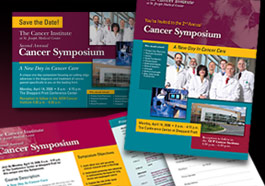 St. Joseph Medical Center Cancer Symposium Direct Mail Campaign