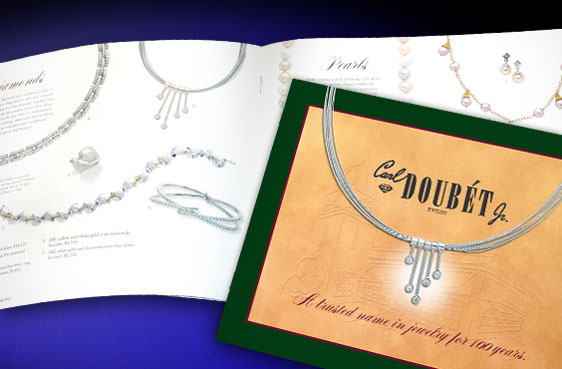 Jewelry Catalog for Carl Doubét Jr.