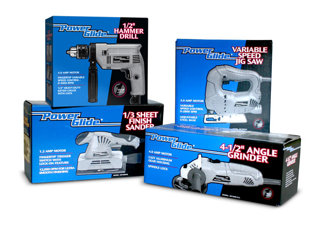 Power tool product packaging