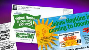 Various printed marketing materials