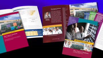 Printed brochures and other marketing materials