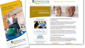 Crofton Care & Rehabilitation Marketing Materials