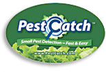 Pest Catch label for package