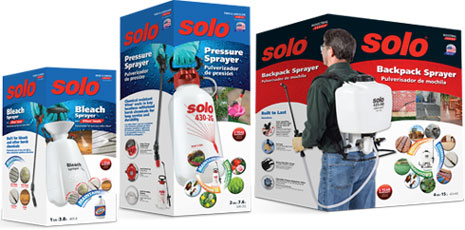 Solo Sprayers Custom Packaging