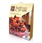 Custom Designed Packaging for Backburner Chili