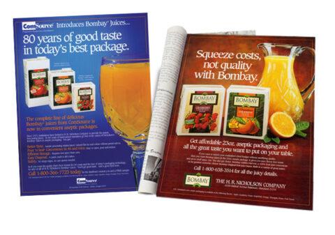 HR Nicholson Bombay Print Ads