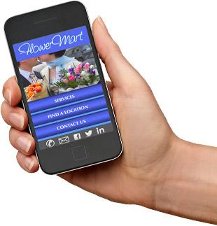 Custom Responsive Mobile Website