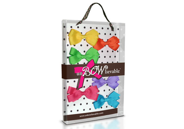 unBOWlievable Bows retail packaging
