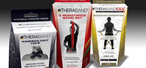 Thera-Band Custom Product Packaging
