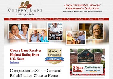 Cherry Lane Nursing Center – Website