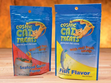 Product retail packaging for pet products