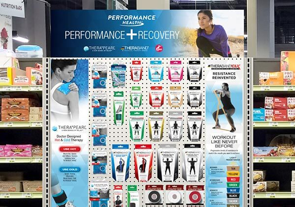 TheraBand Retail Products Shelf Planogram