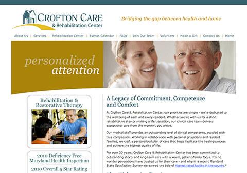 Custom branded website.