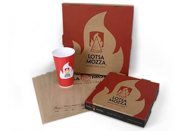 Branded marketing materials.