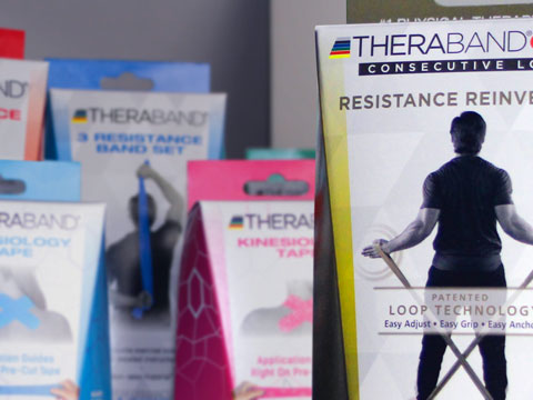 Example of custom package design for Health and Fitness products