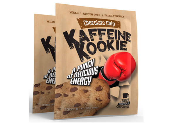 Stand-up pouch for cookies