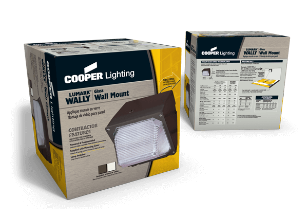 Retail packaging for a lighting product