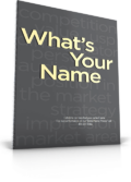 A Memorable Brand Starts With A Memorable Name. Use this worksheet to guide you through the creative process of naming your company or product.