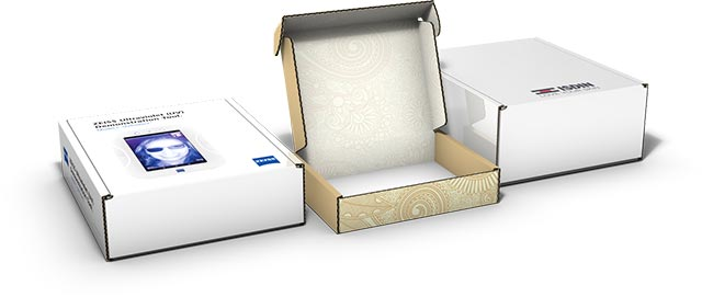 Examples of custom printed mailer boxes