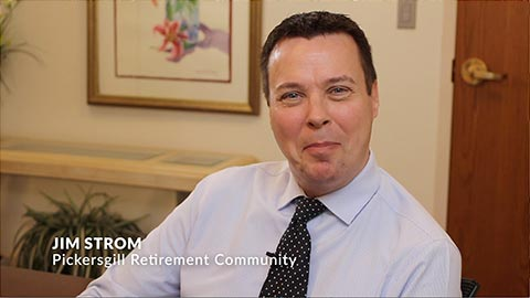 Image of Jim Strom - Marketing Director at Pickersgill Retirement Community