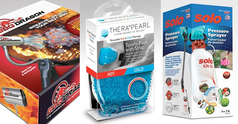 Examples of retail packaging
