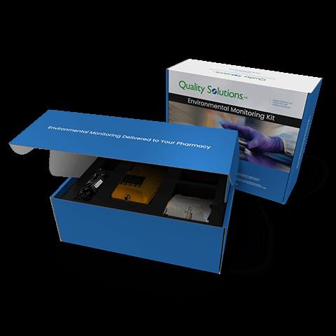 Sales kit with custom foam insert