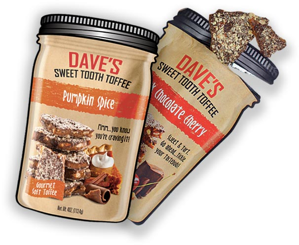 Dave's Sweet Tooth Candy Pouches