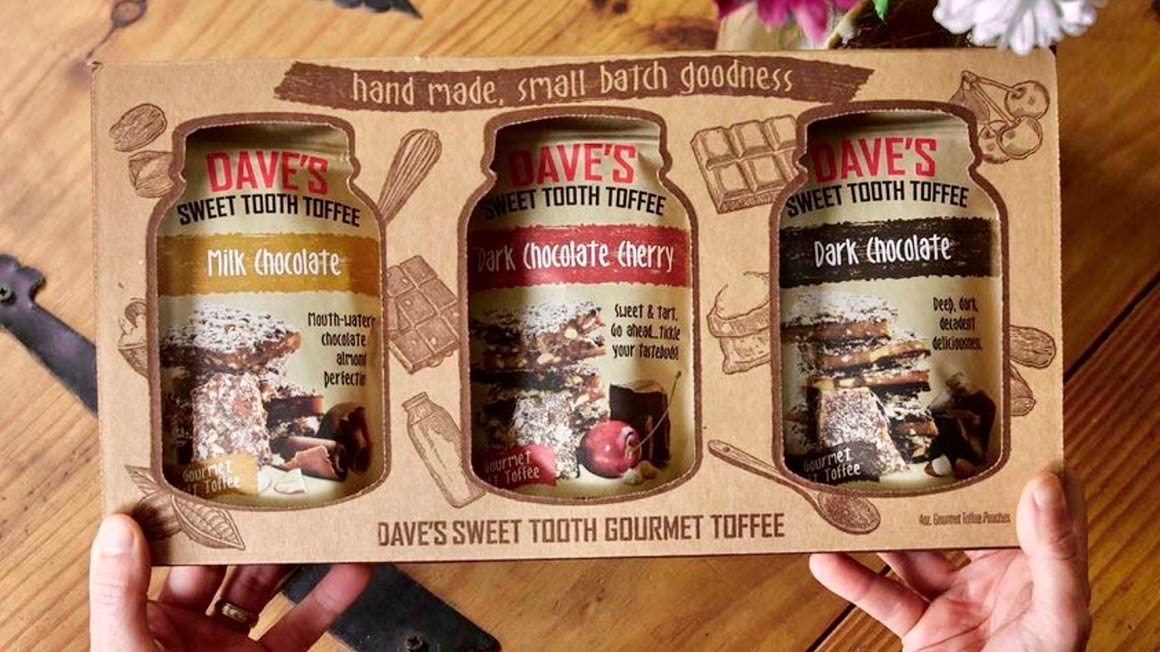 3-pack toffee gift set