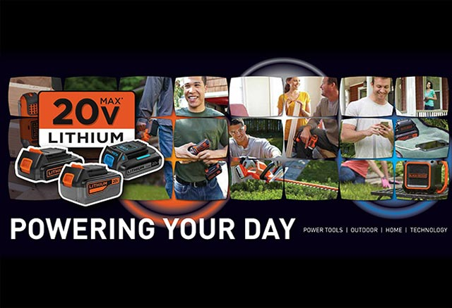 Powering your day branding graphic treatment