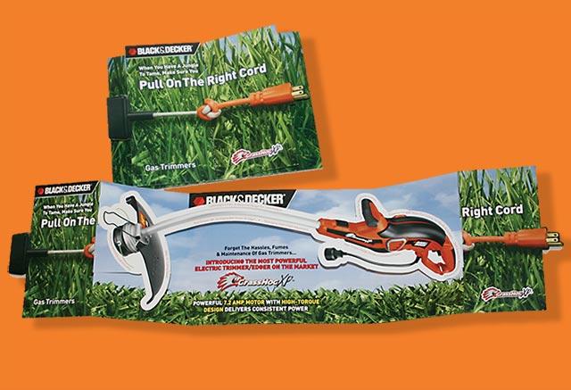 Black & Decker product mailer