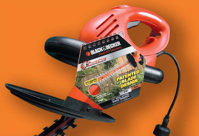 Black & Decker on-tool point of purchase
