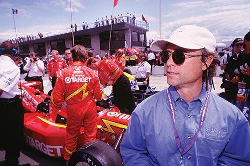 Brock Walker at race track
