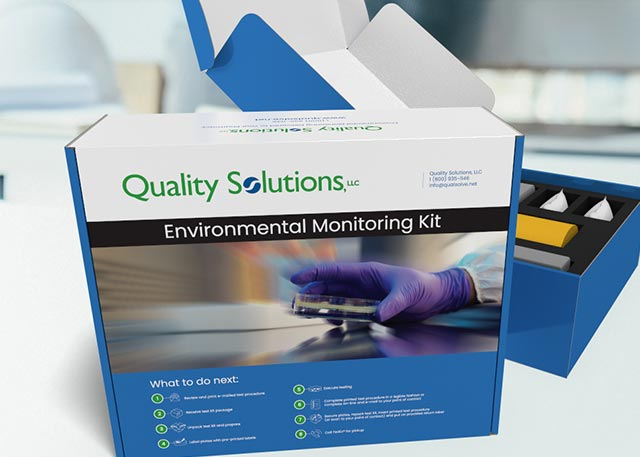 Sales kit for lab materials