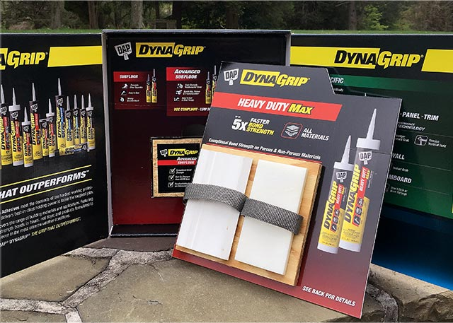Multi-part sales kit for a drywall patch product