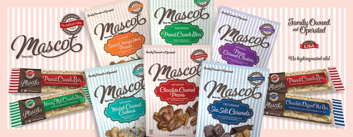 Newly rebranded and redesigned Mascot product packaging